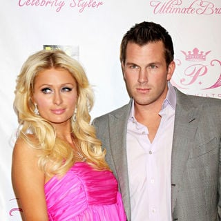 Doug Reinhardt in Paris Hilton's new hairstyling tools launch party - wenn2660797