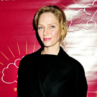 Uma Thurman attends the 2009 Tibet House benefit auction - wenn2661825