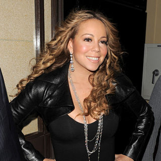 Mariah Carey in Mariah Carey Leaving The Dorchester Hotel at 1AM