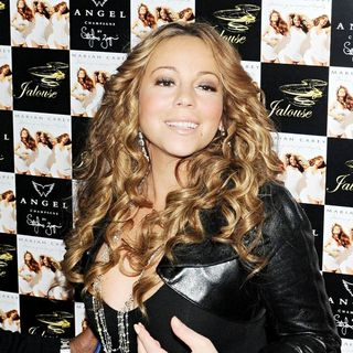 Mariah Carey in Mariah Carey Arriving at Jalouse Nightclub