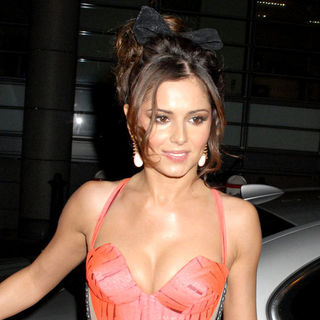 Cheryl Cole, Girls Aloud in Cheryl Cole celebrates Sarah Harding's and Kimberley Walsh's birthday
