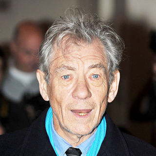 Ian McKellen in London Evening Standard Theatre Awards