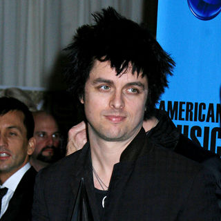 Billie Joe Armstrong, Green Day in 2009 American Music Awards - Press Room