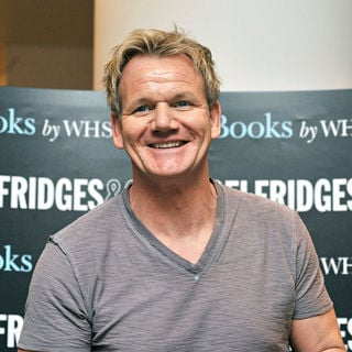Gordon Ramsay in Gordon Ramsay Signs His Book 'Gordon Ramsay's World Kitchen'