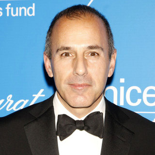 Matt Lauer in The 2009 Unicef Snowflake Ball - Arrivals
