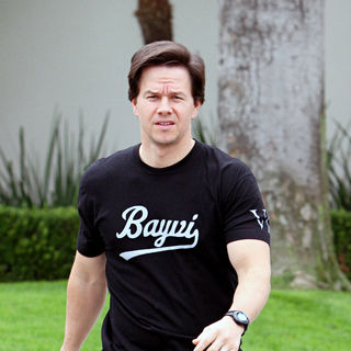 Mark Wahlberg - Mark Wahlberg leaving the Good Shepherd Catholic Church in Beverly Hills
