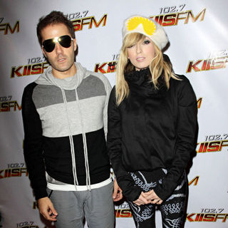 The Ting Tings in KISS FM's Jingle Ball 2009 - Arrivals and Inside