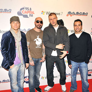 Backstreet Boys in The Jingle Bell Ball