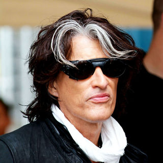 Joe Perry in Joe Perry Arrives at The Orange Carpet Before The Miami Dolphins vs New England Patriots