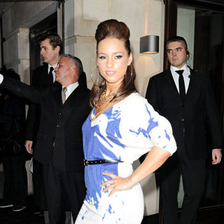 Alicia Keys in Album Launch Party 'The Element Of Freedom'