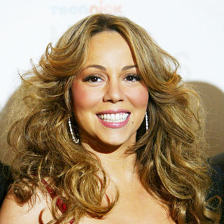 Mariah Carey in The TeenNick's HALO Awards Screening