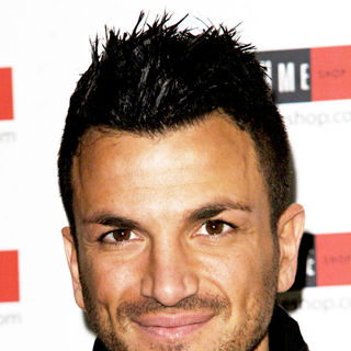 Peter Andre in Peter Andre meets fans and signs boxes of his new aftershave