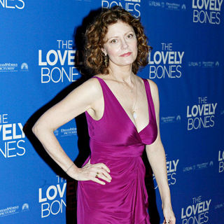 Susan Sarandon in The premiere of the film 'The Lovely Bones'