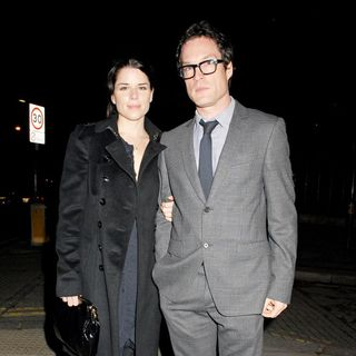 Neve Campbell, John Light in Swan Lake Opening Gala - Departures