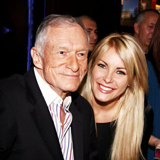 Hugh Hefner, Crystal Harris in Hugh Hefner Joins Benedikt Taschen
