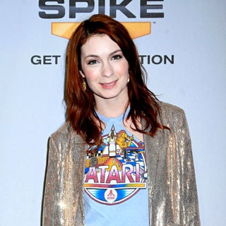 Felicia Day in Spike TV's 7th Annual Video Game Awards