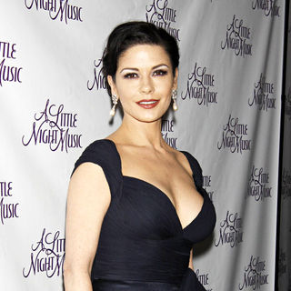 Catherine Zeta-Jones - Opening night after party for the Broadway musical 'A Little Night Music' - Inside Arrivals