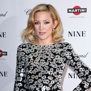 Kate Hudson in New York Premiere of 'Nine' Sponsored by Chopard