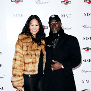 Kimora Lee Simmons, Djimon Honsou in New York premiere of 'Nine' sponsored by Chopard