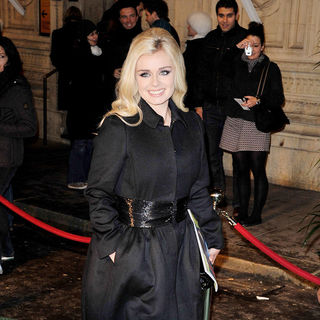 Katherine Jenkins in Cirque De Soleil - Varekai - gala opening night held at the Royal Albert Hall