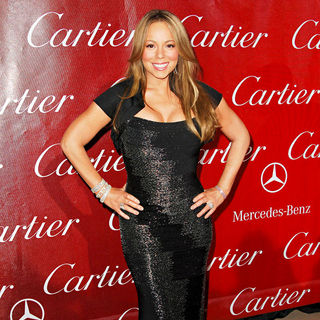 Mariah Carey in 2010 Palm Springs International Film Festival Awards Gala