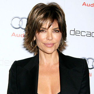 Lisa Rinna in Audi Celebrates the Golden Globes with Nominee Anna Paquin