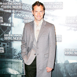 Jude Law in Photocall for the movie 'Sherlock Holmes'