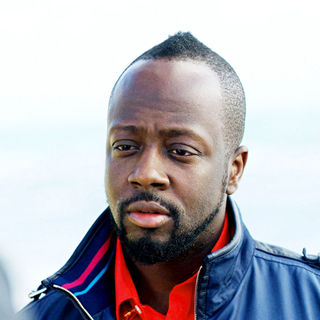 Wyclef Jean in Wyclef Jean took some time off from his disaster relief in Haiti