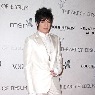 Adam Lambert - The 3rd Annual Art of Elysium Gala in Beverly Hills - Arrivals