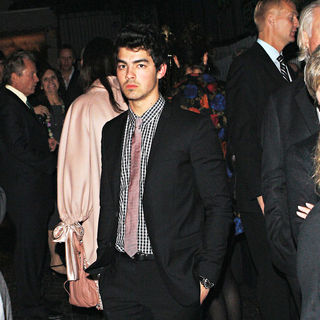 Joe Jonas attends a private party