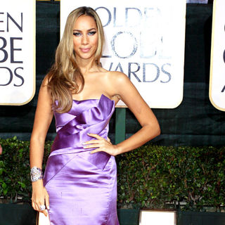 Leona Lewis in 67th Golden Globe Awards - Arrivals