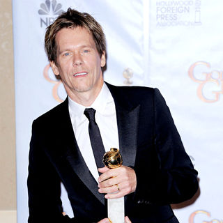 Kevin Bacon in 67th Golden Globe Awards - Press Room
