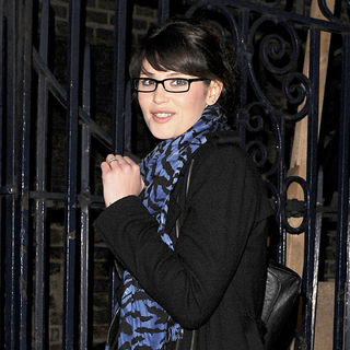 Gemma Arterton leaving the Garrick Theatre, after her performance in the West End production