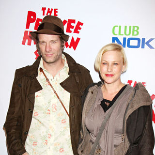 Patricia Arquette, Thomas Jane in The Opening Night of The 'Pee-Wee Herman Show'