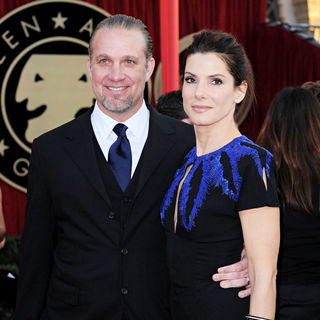 Jesse James, Sandra Bullock in 16th Annual Screen Actors Guild Awards - Arrivals
