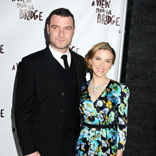 Liev Schreiber, Scarlett Johansson in After party for the opening night of Arthur Miller's 'A View From The Bridge' - Arrivals