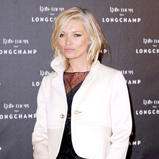 Kate Moss - A party held by fashion label 'Longchamp' during Paris Fashion Week