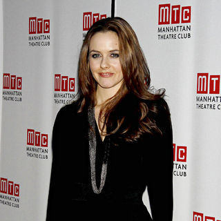 Alicia Silverstone in Opening Night of The Play 'Time Stands Still'