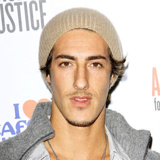 Eric Balfour in Artists for Peace and Justice Haiti Benefit