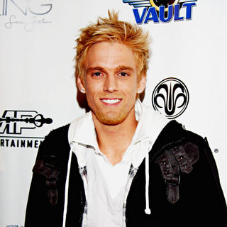 Aaron Carter in Grammy After - Party