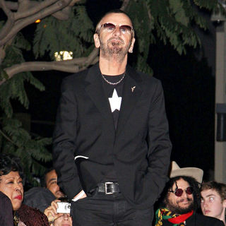 The 50th Anniversary Celebration of The Walk Of Fame by Honoring Ringo Starr with A Star