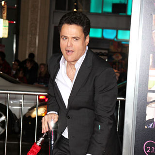 Donny Osmond in Los Angeles World Premiere of 'Valentine's Day' - Red Carpet
