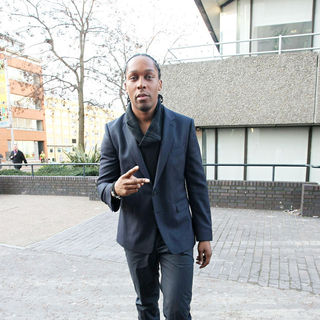 Lemar in Lemar outside the ITV studios