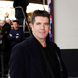 Simon Cowell - The judges arrive for the 'Britains Got Talent' auditions