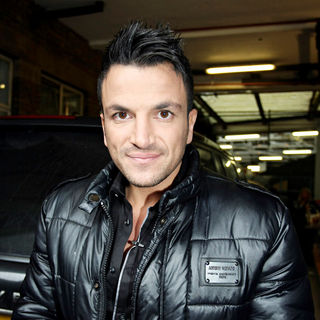 Peter Andre in Peter Andre leaves the ITV studios