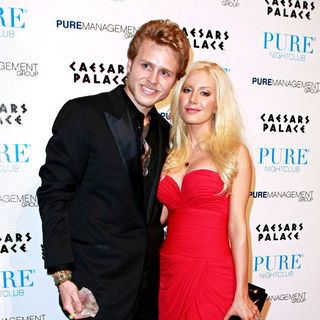 Heidi Montag and Spencer Pratt host Pure Nightclub on Valentine's Day Weekend