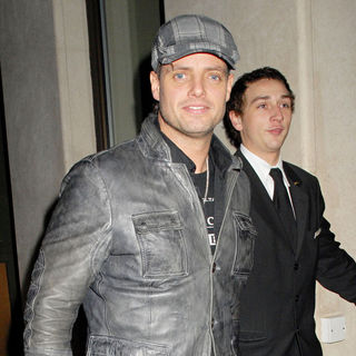 Keith Duffy, Boyzone in Keith Duffy Leaving The May Fair Hotel