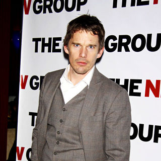 Ethan Hawke in The Opening night after party for The New Group revival of Sam Shepard's 'A Lie of the Mind'