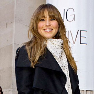 Rachel Stevens in London Fashion Week Autumn/Winter 2010 - Celebrities Outside - wenn2746569