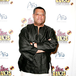Laurence Fishburne in The Blue Carpet World Premiere of 'Viva ELVIS' - wenn2747179